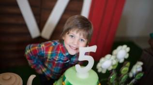 Aniversário Antônio 5 Anos