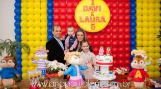 Aniversário Laura e Davi